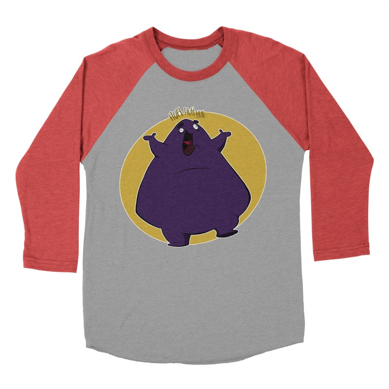 Grimace Men's Baseball Triblend T-Shirt by westinchurch's Artist Shop