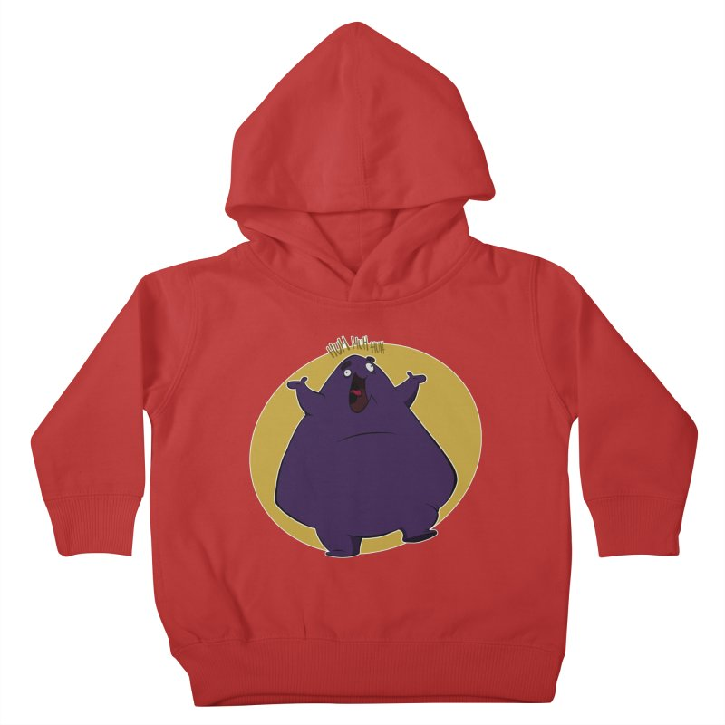 Grimace Kids Toddler Pullover Hoody by westinchurch's Artist Shop