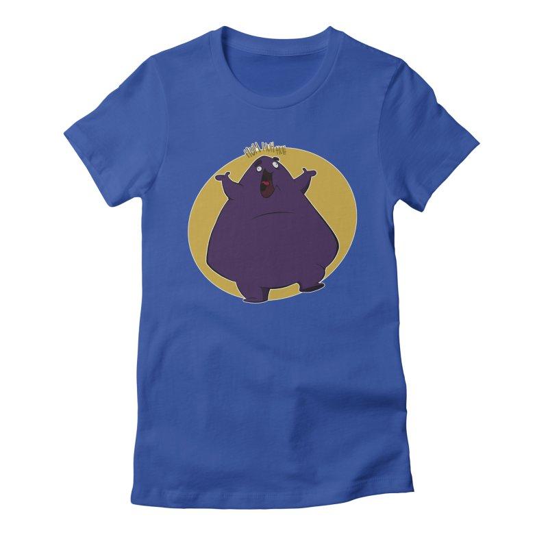 Grimace Women's Fitted T-Shirt by westinchurch's Artist Shop
