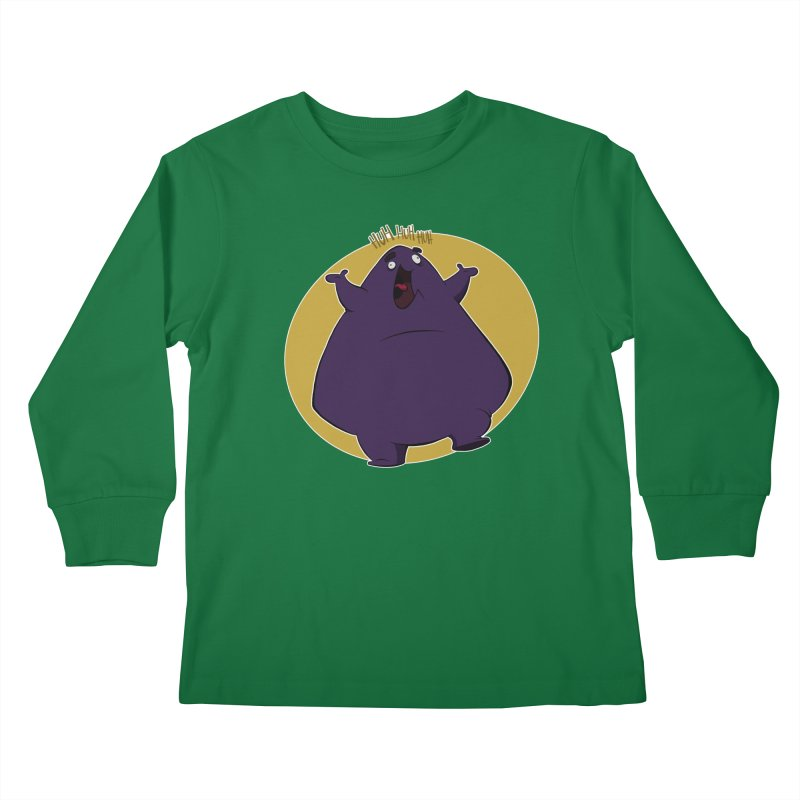 Grimace Kids Longsleeve T-Shirt by westinchurch's Artist Shop