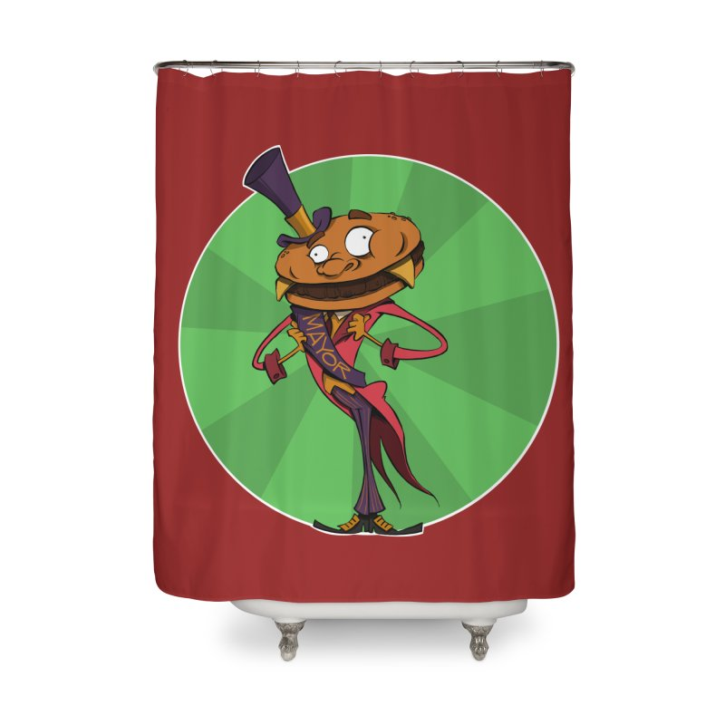 Mayor McCheese Home Shower Curtain by westinchurch's Artist Shop