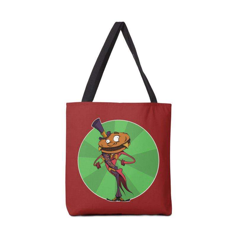 Mayor McCheese Accessories Bag by westinchurch's Artist Shop