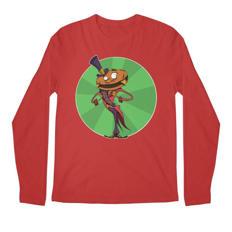Mayor McCheese Men's Longsleeve T-Shirt by westinchurch's Artist Shop