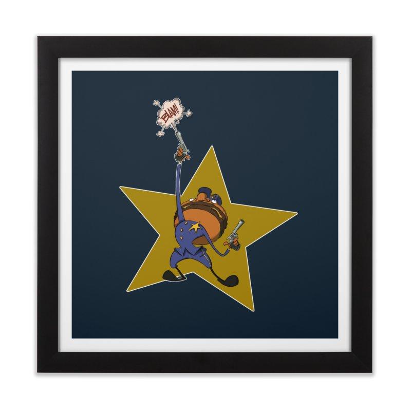 Officer Big Mac Home Framed Fine Art Print by westinchurch's Artist Shop