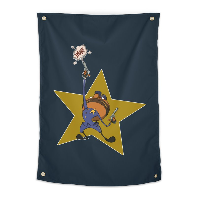 Officer Big Mac Home Tapestry by westinchurch's Artist Shop