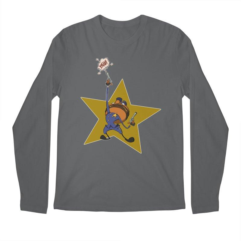 Officer Big Mac Men's Longsleeve T-Shirt by westinchurch's Artist Shop
