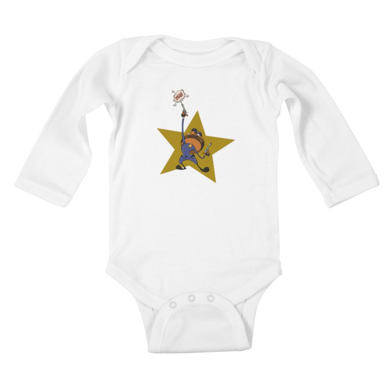Officer Big Mac Kids Baby Longsleeve Bodysuit by westinchurch's Artist Shop