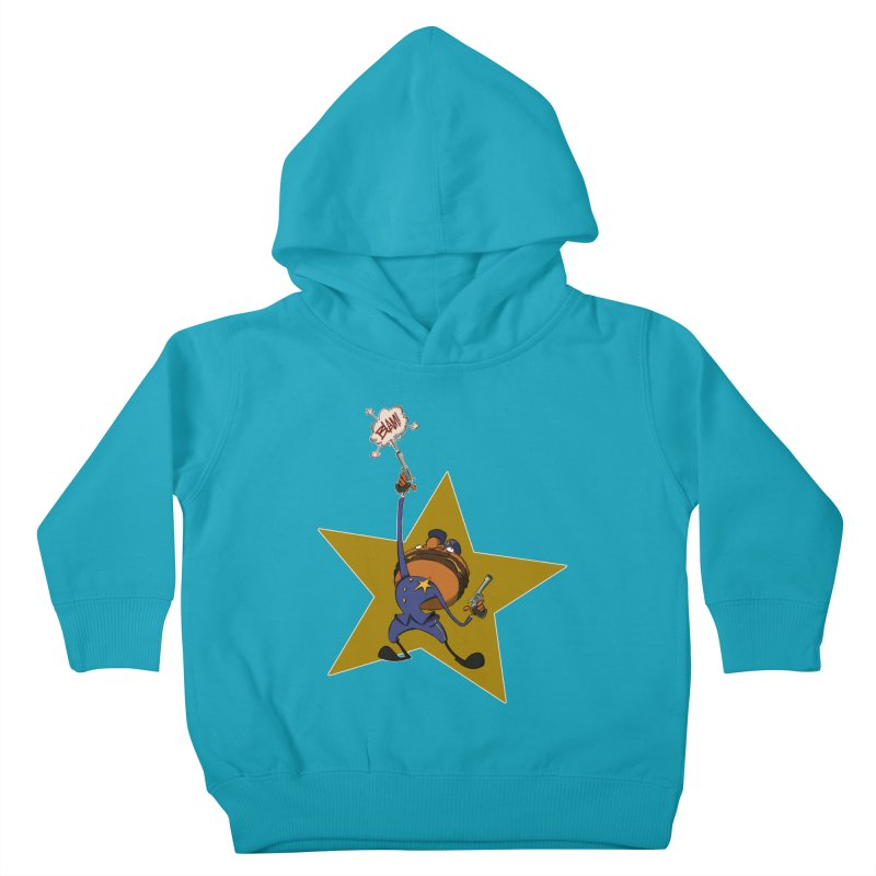 Officer Big Mac Kids Toddler Pullover Hoody by westinchurch's Artist Shop
