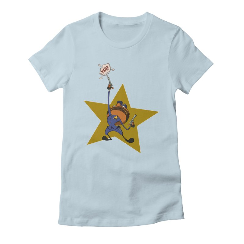 Officer Big Mac Women's Fitted T-Shirt by westinchurch's Artist Shop