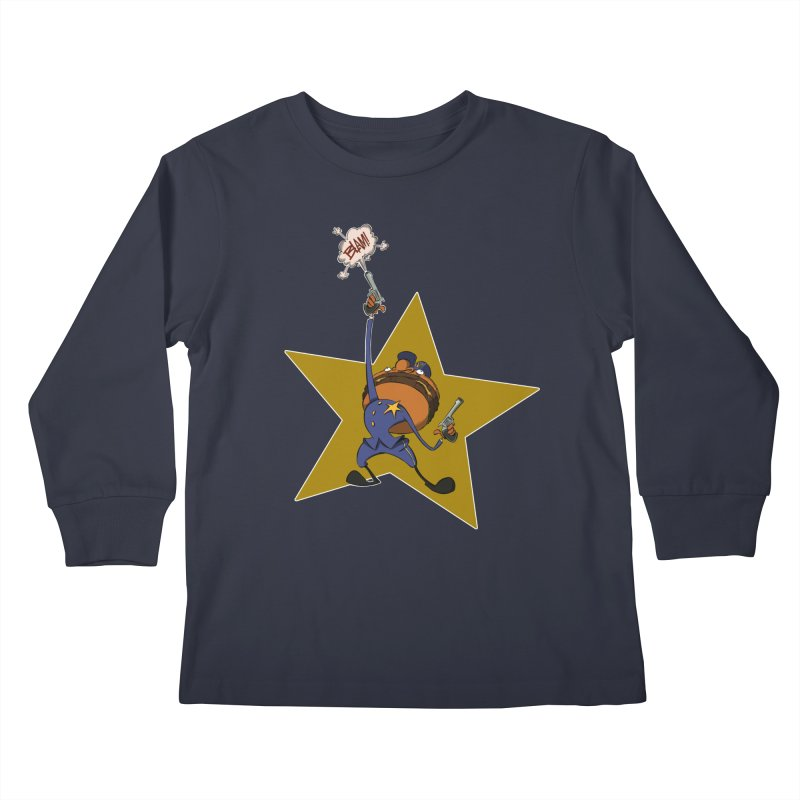 Officer Big Mac Kids Longsleeve T-Shirt by westinchurch's Artist Shop