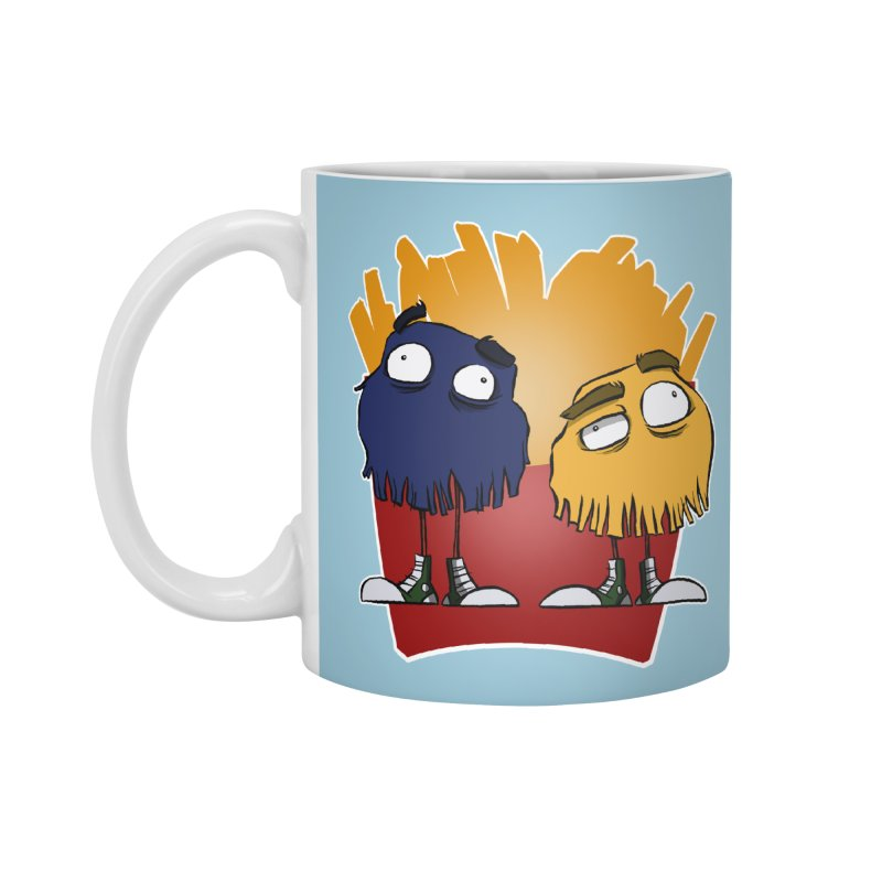 Fry Guys Accessories Mug by westinchurch's Artist Shop