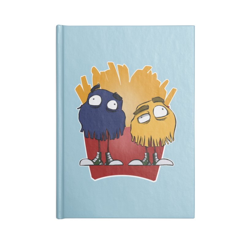 Fry Guys Accessories Notebook by westinchurch's Artist Shop