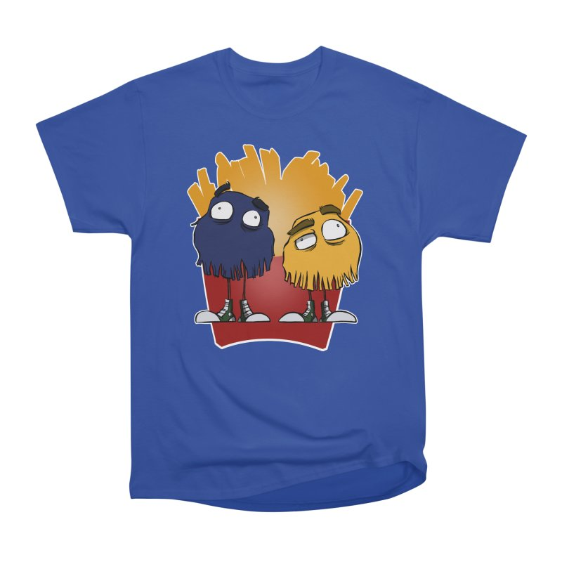 Fry Guys Women's Heavyweight Unisex T-Shirt by westinchurch's Artist Shop