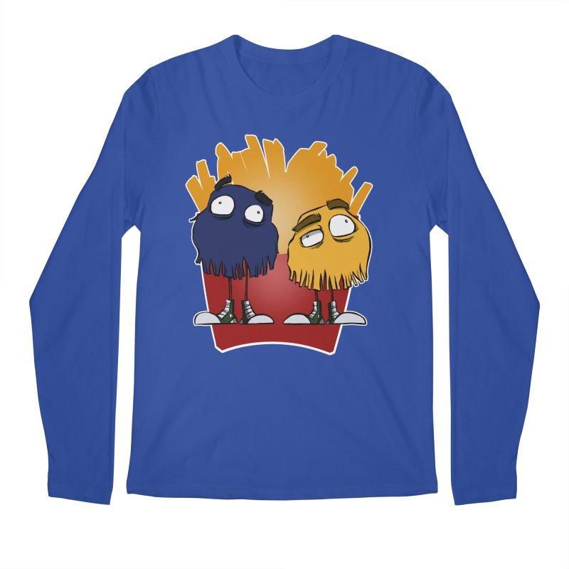 Fry Guys Men's Longsleeve T-Shirt by westinchurch's Artist Shop