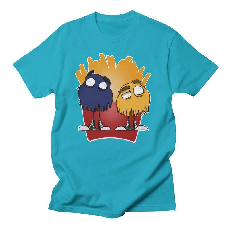 Fry Guys Women's Unisex T-Shirt by westinchurch's Artist Shop
