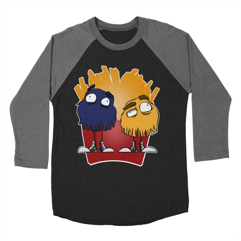 Fry Guys Women's Baseball Triblend T-Shirt by westinchurch's Artist Shop