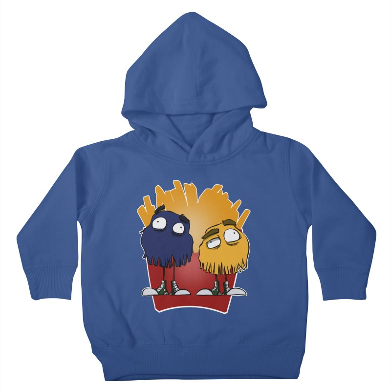 Fry Guys Kids Toddler Pullover Hoody by westinchurch's Artist Shop