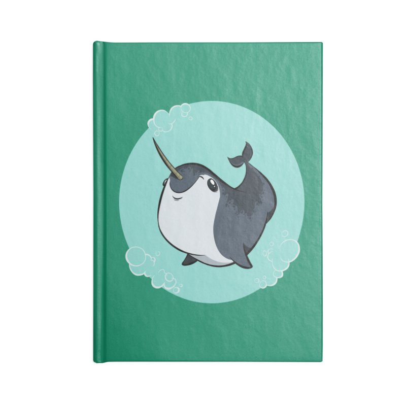 Mr. Narwhal Accessories Notebook by westinchurch's Artist Shop