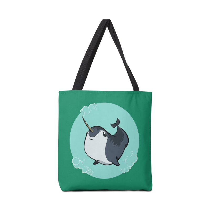 Mr. Narwhal Accessories Bag by westinchurch's Artist Shop