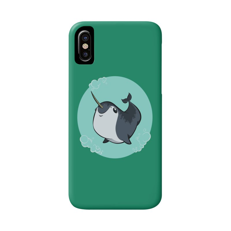 Mr. Narwhal Accessories Phone Case by westinchurch's Artist Shop