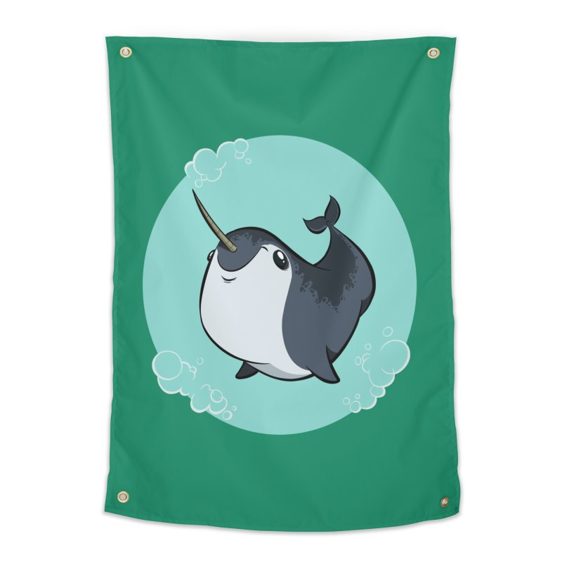 Mr. Narwhal Home Tapestry by westinchurch's Artist Shop