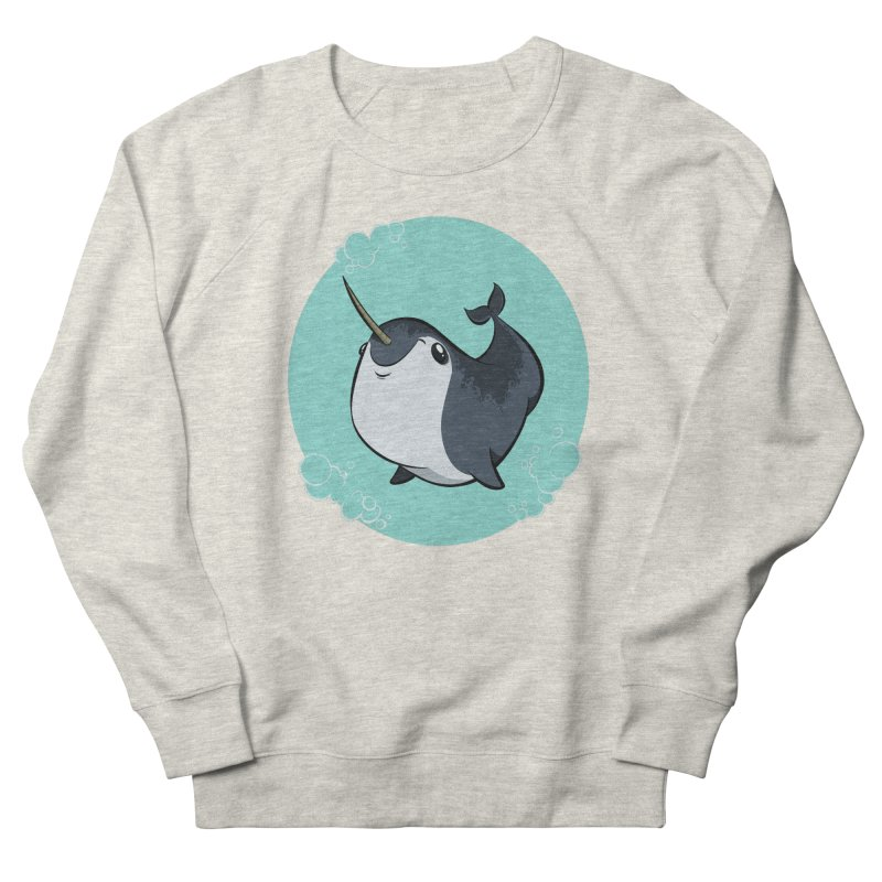 Mr. Narwhal Men's Sweatshirt by westinchurch's Artist Shop