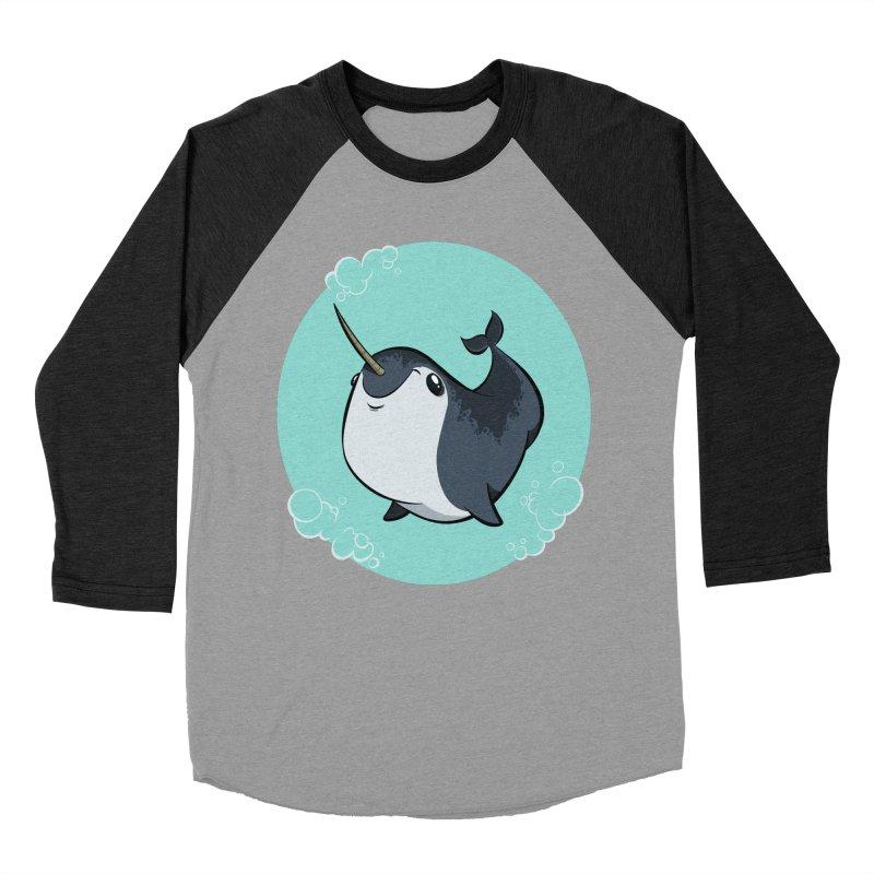 Mr. Narwhal Women's Baseball Triblend T-Shirt by westinchurch's Artist Shop
