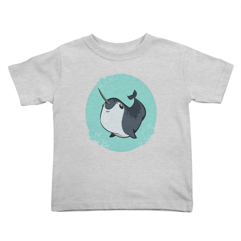 Mr. Narwhal Kids Toddler T-Shirt by westinchurch's Artist Shop
