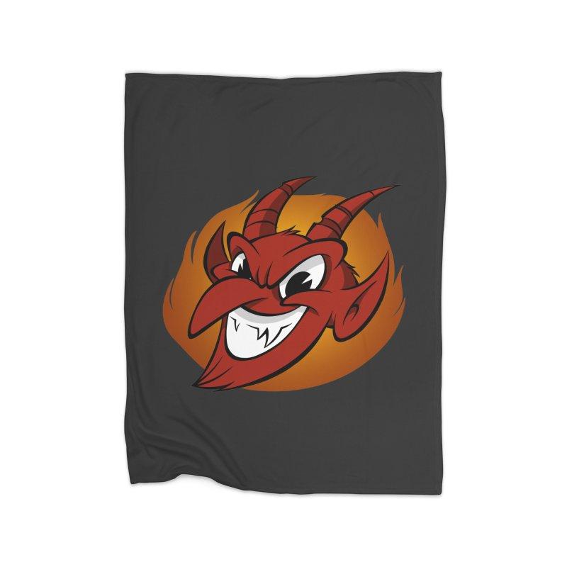 Red Devil! Home Blanket by westinchurch's Artist Shop