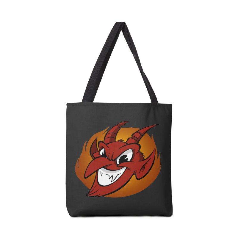 Red Devil! Accessories Bag by westinchurch's Artist Shop