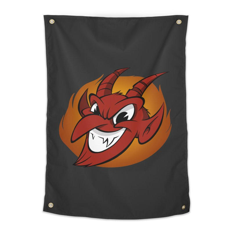 Red Devil! Home Tapestry by westinchurch's Artist Shop