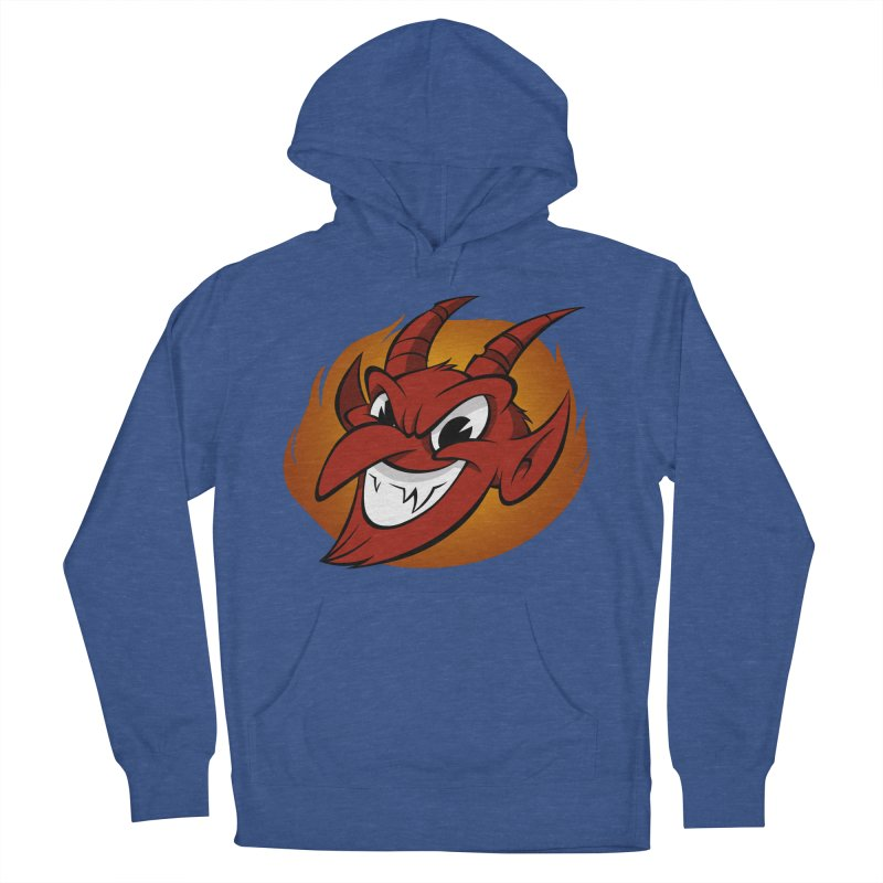 Red Devil! Men's Pullover Hoody by westinchurch's Artist Shop