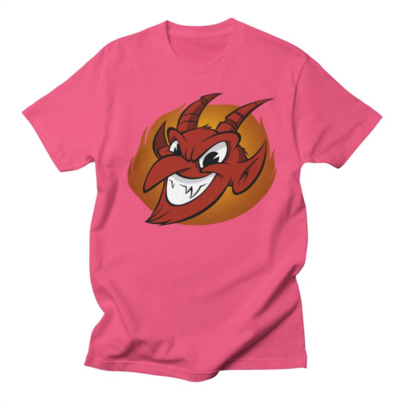 Red Devil! Women's Unisex T-Shirt by westinchurch's Artist Shop