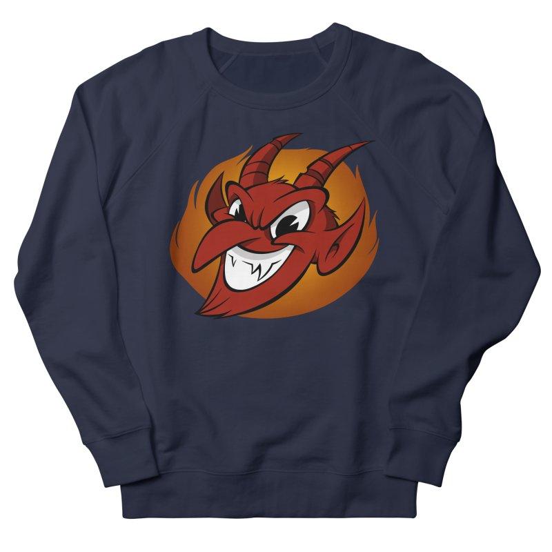 Red Devil! Men's Sweatshirt by westinchurch's Artist Shop