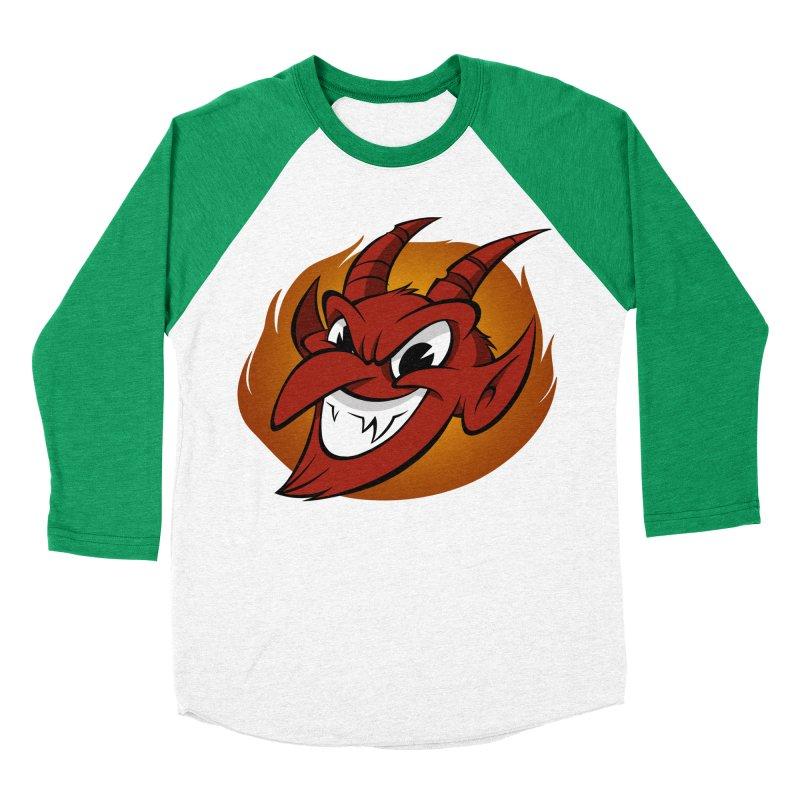 Red Devil! Women's Baseball Triblend T-Shirt by westinchurch's Artist Shop