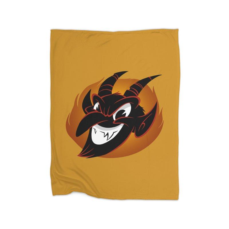 1930s Devil! Home Blanket by westinchurch's Artist Shop