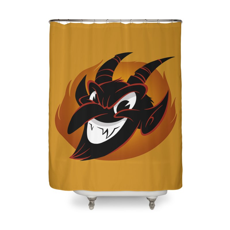 1930s Devil! Home Shower Curtain by westinchurch's Artist Shop