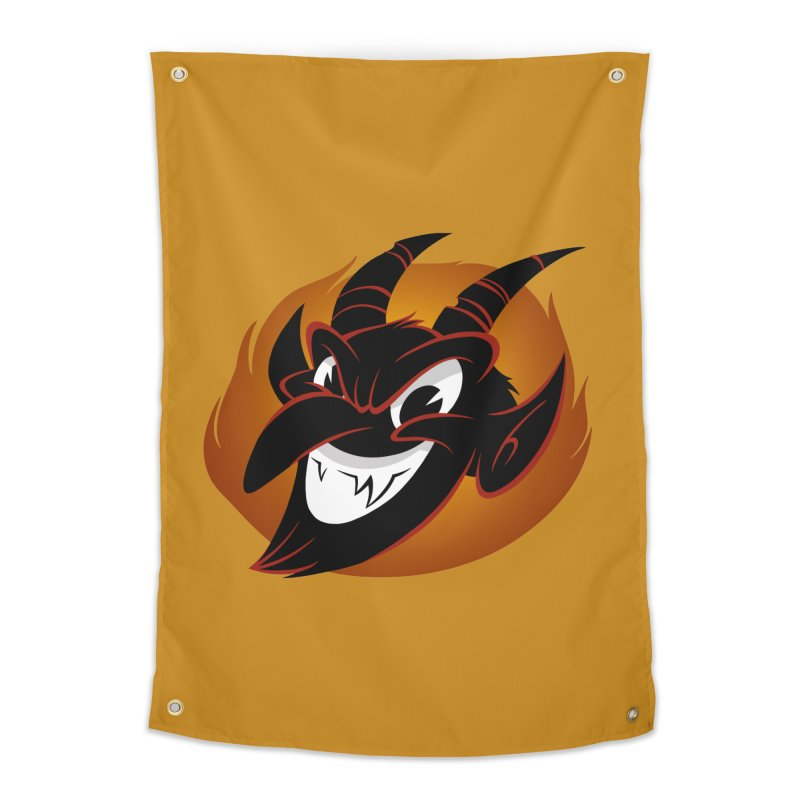 1930s Devil! Home Tapestry by westinchurch's Artist Shop