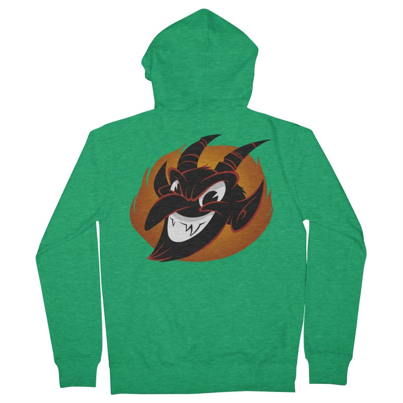 1930s Devil! Men's Zip-Up Hoody by westinchurch's Artist Shop
