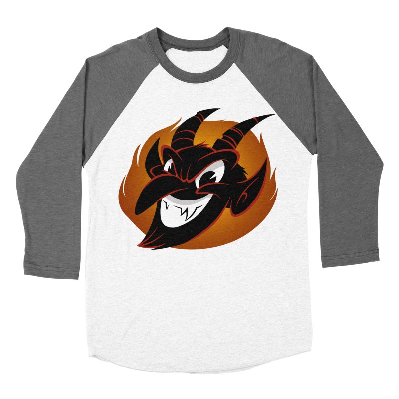 1930s Devil! Men's Baseball Triblend T-Shirt by westinchurch's Artist Shop
