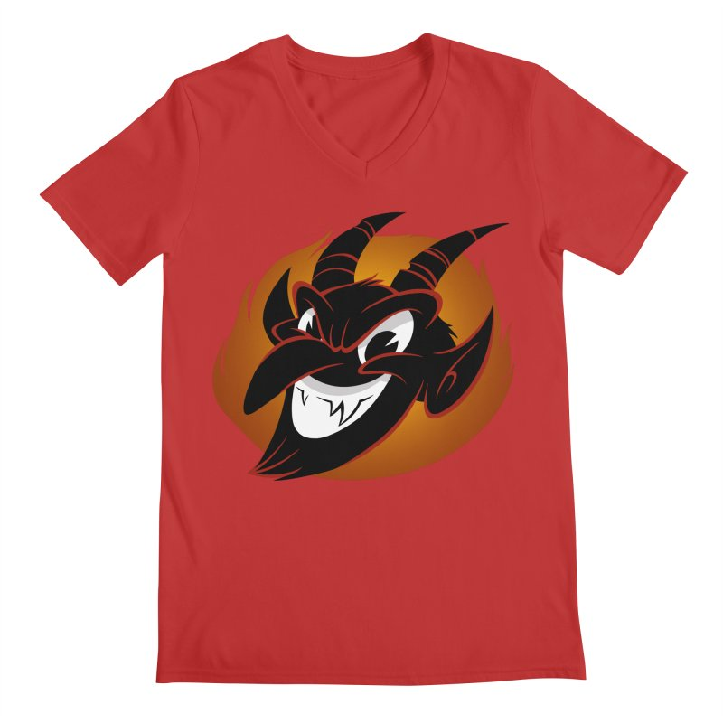 1930s Devil! Men's V-Neck by westinchurch's Artist Shop