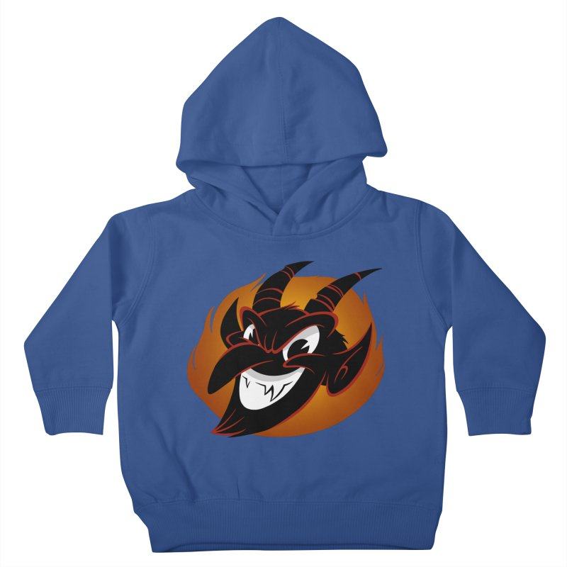1930s Devil! Kids Toddler Pullover Hoody by westinchurch's Artist Shop