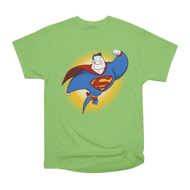 Superman! Women's Heavyweight Unisex T-Shirt by westinchurch's Artist Shop
