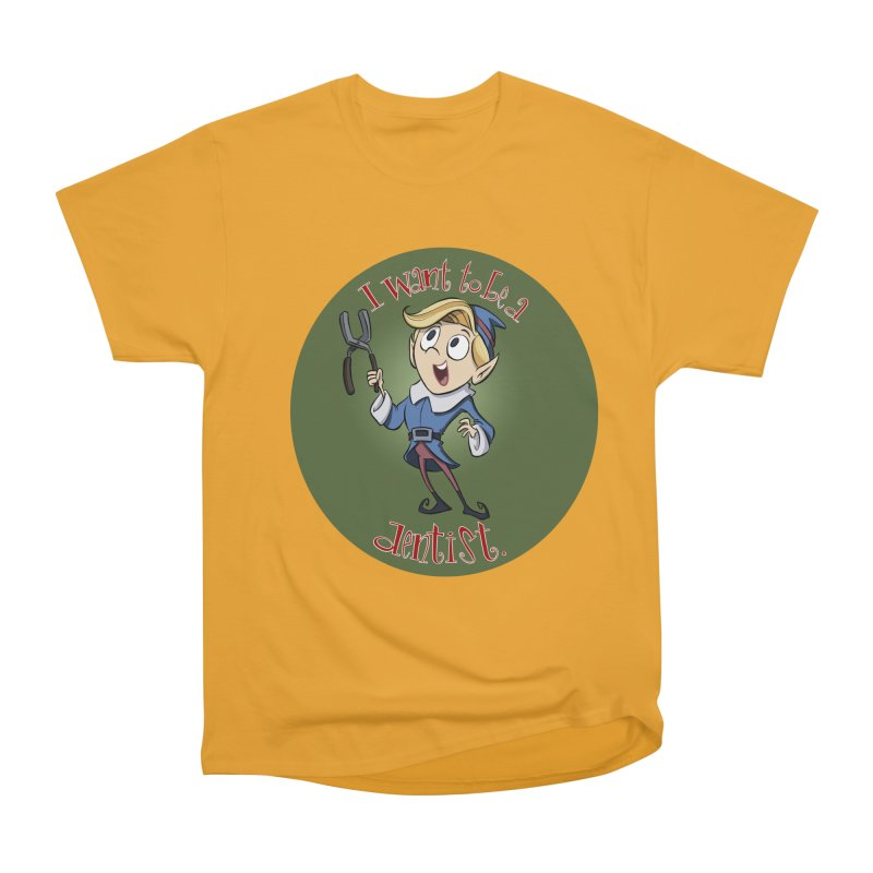 I want to be a dentist. Women's Heavyweight Unisex T-Shirt by westinchurch's Artist Shop
