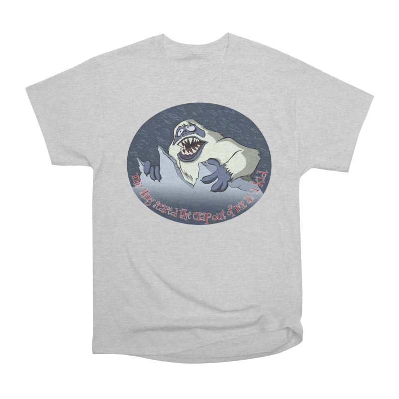 This thing scared the crap out of me as a kid. Women's Heavyweight Unisex T-Shirt by westinchurch's Artist Shop