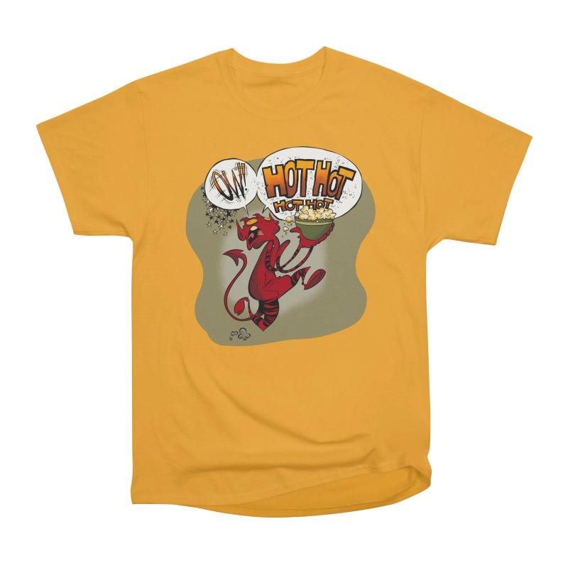 Ow! Hot hot hot hot! Women's Heavyweight Unisex T-Shirt by westinchurch's Artist Shop