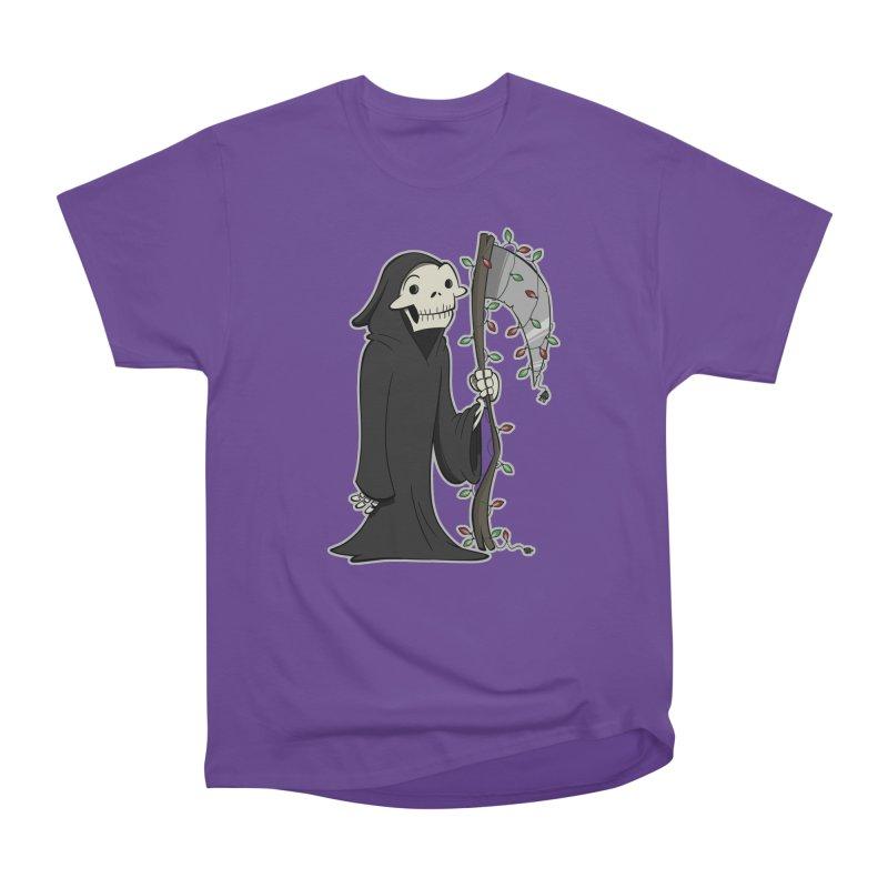 Christmas Reaper Women's Heavyweight Unisex T-Shirt by westinchurch's Artist Shop