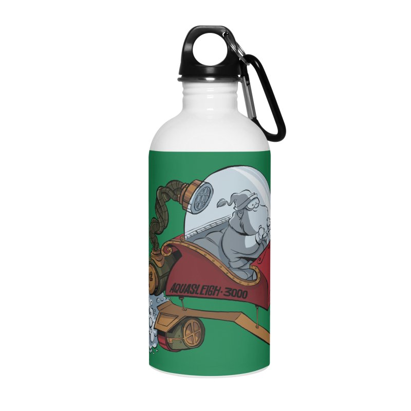 AquaSleigh 3000 Accessories Water Bottle by westinchurch's Artist Shop