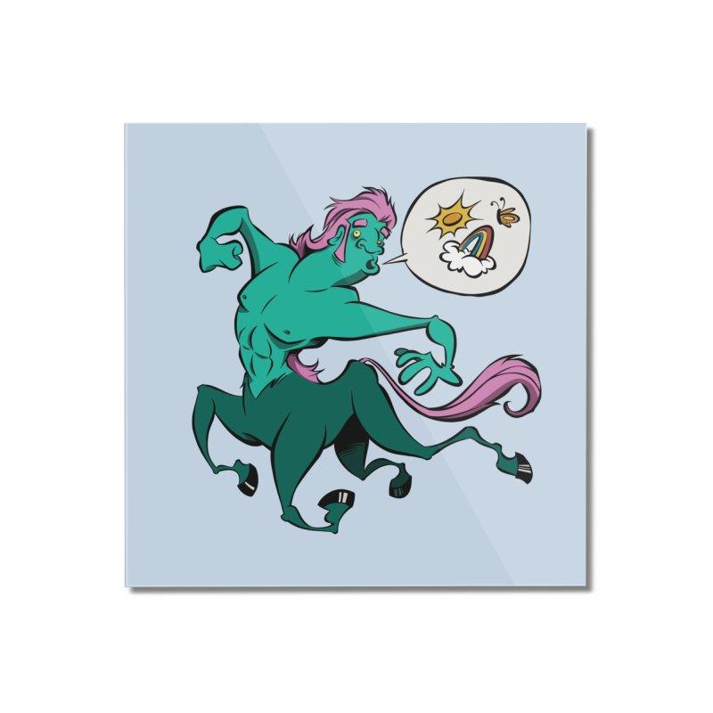 Centaur! Home Mounted Acrylic Print by westinchurch's Artist Shop