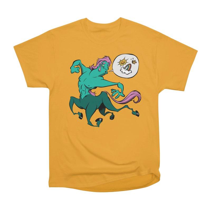 Centaur! Women's Heavyweight Unisex T-Shirt by westinchurch's Artist Shop